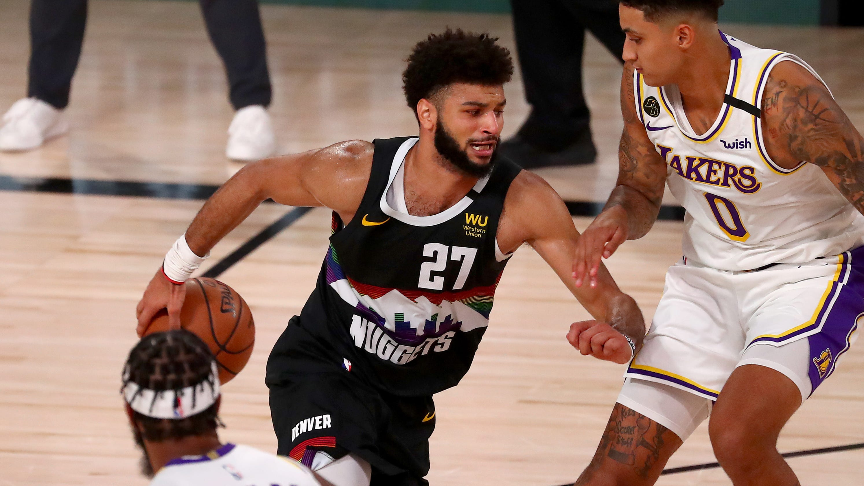 Nuggets hold off Lakers to cut deficit to 2-1 in West finals
