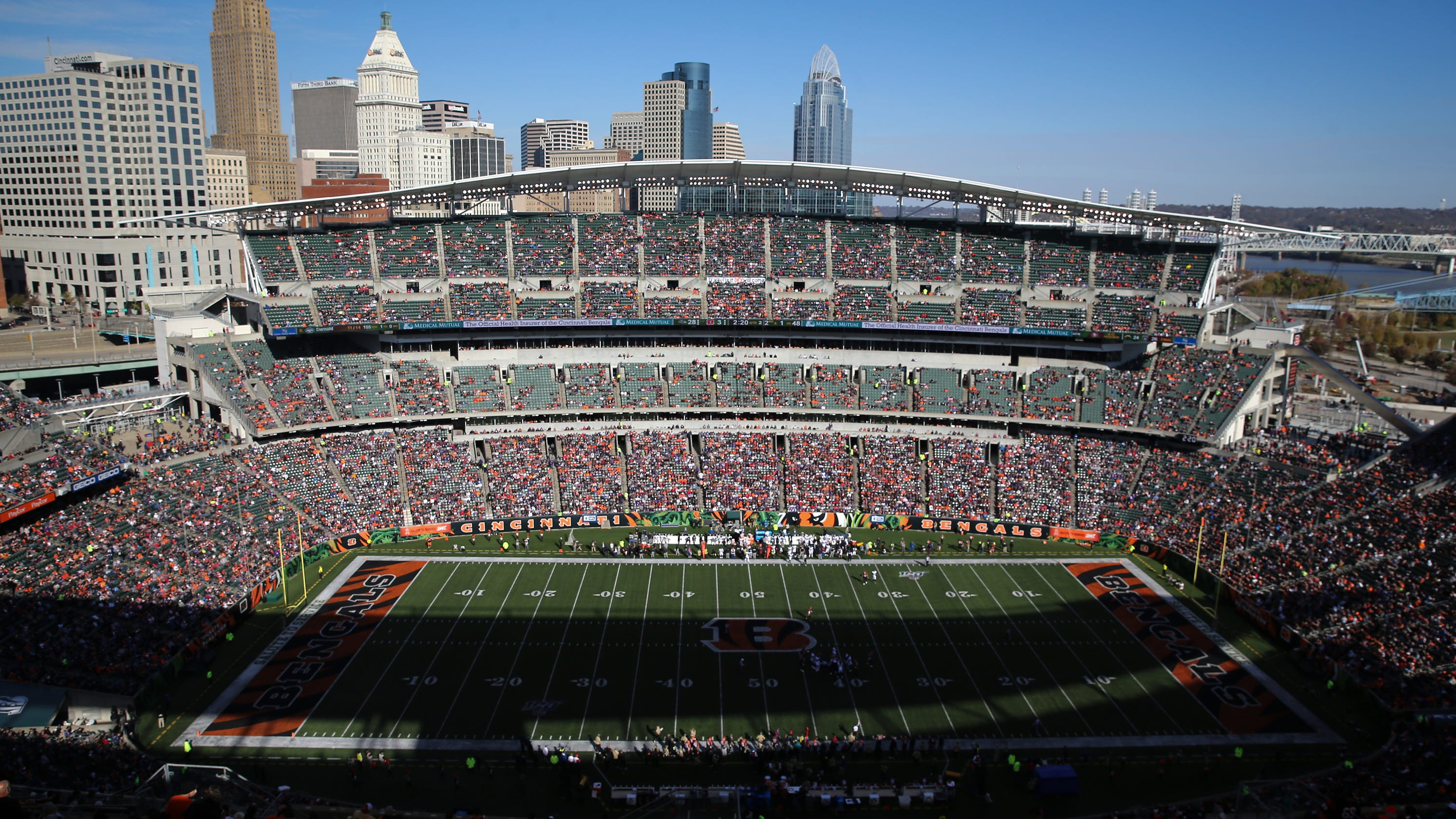 Ohio to allow limited number of fans at four Bengals and Browns games