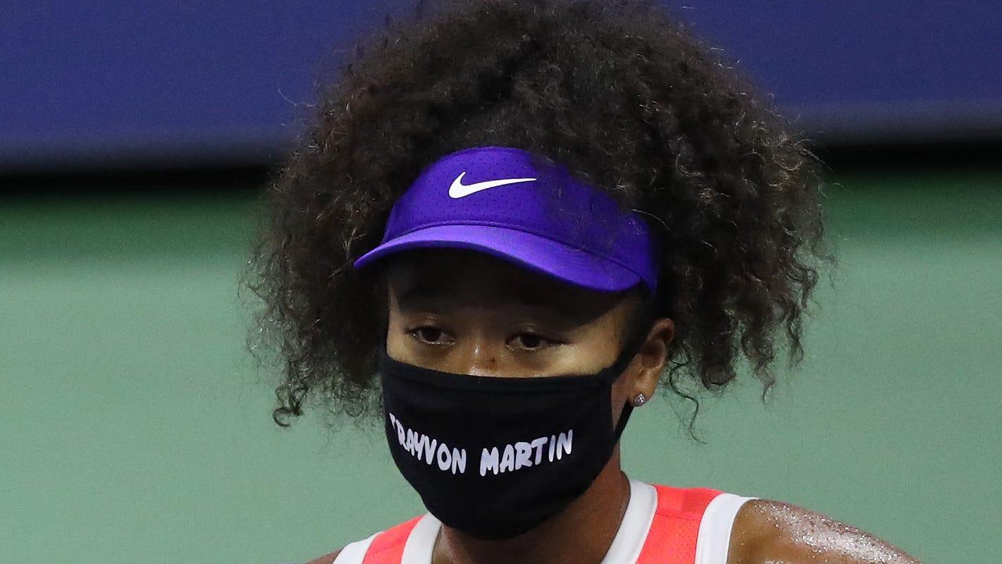 Parents thank Naomi Osaka for supporting Trayvon Martin, Ahmaud Arbery