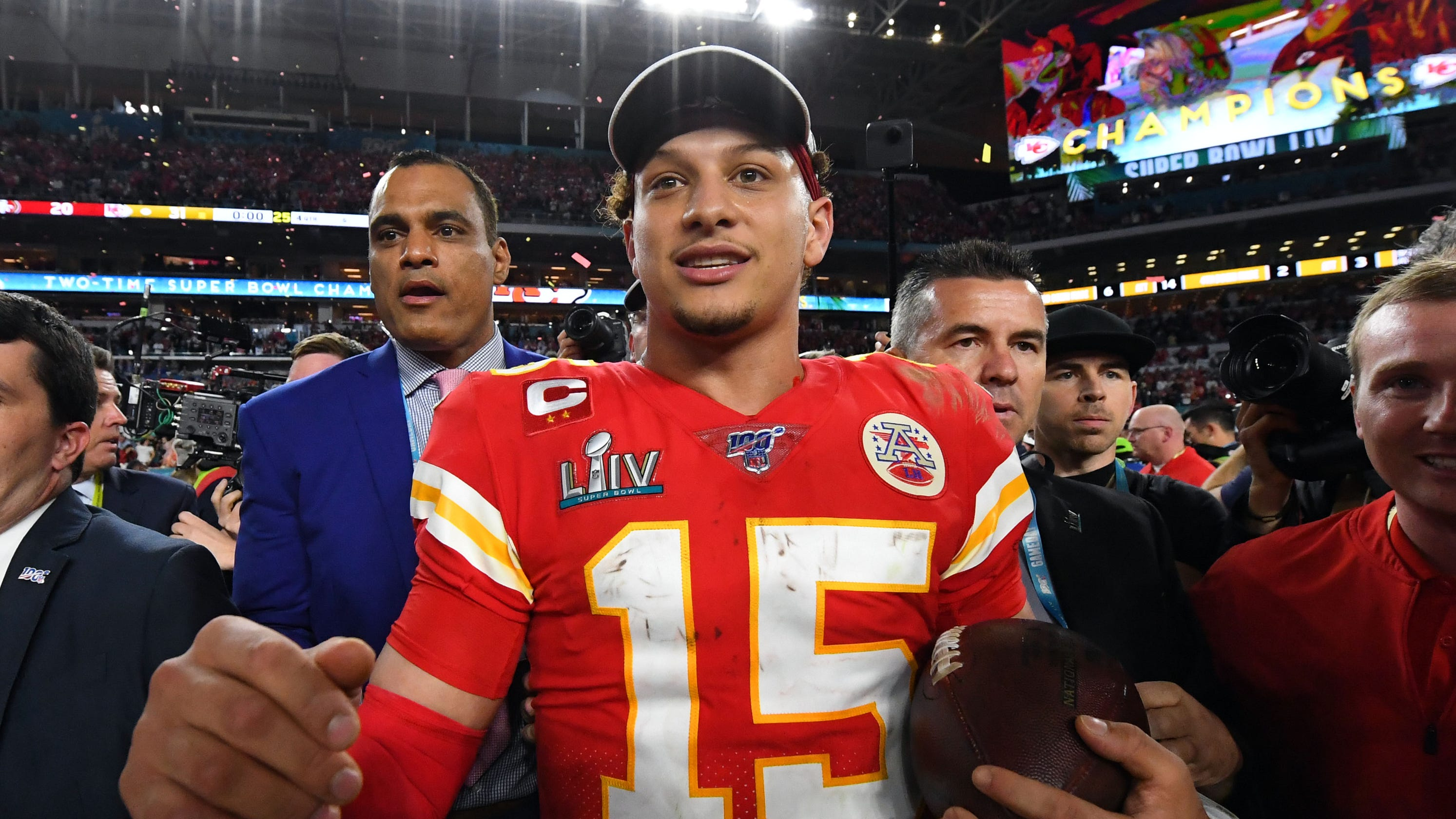 Patrick Mahomes and 25 other top athletes age 25 and under