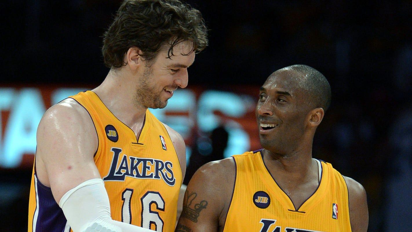 Pau Gasol gives daughter middle name Gianna to honor Gigi Bryant