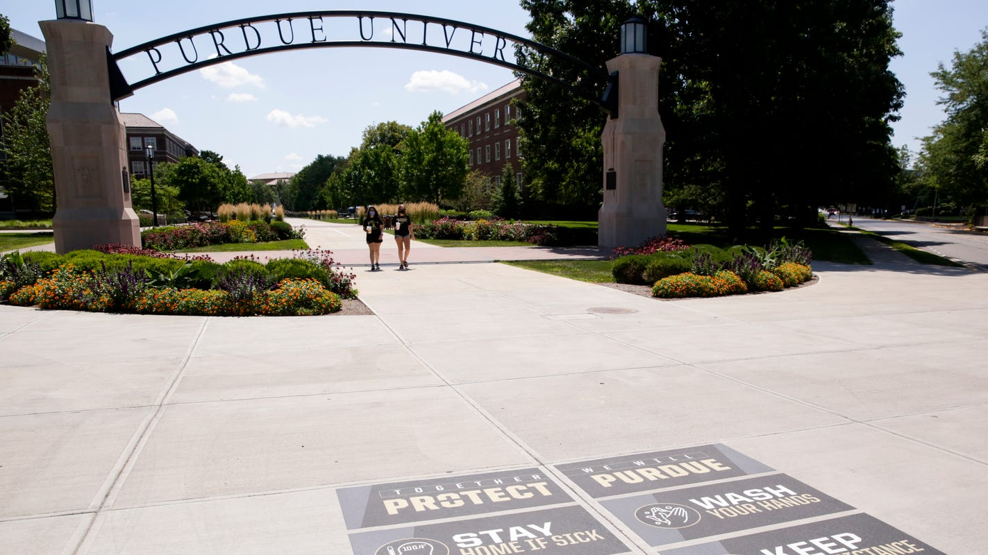 Purdue suspends 13 athletes for party that violated COVID-19 pledge