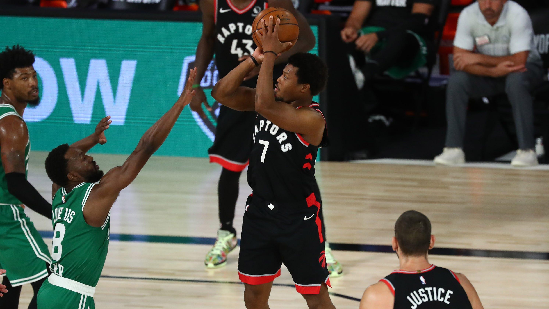 Raptors fend off Celtics in double-OT thriller to force Game 7