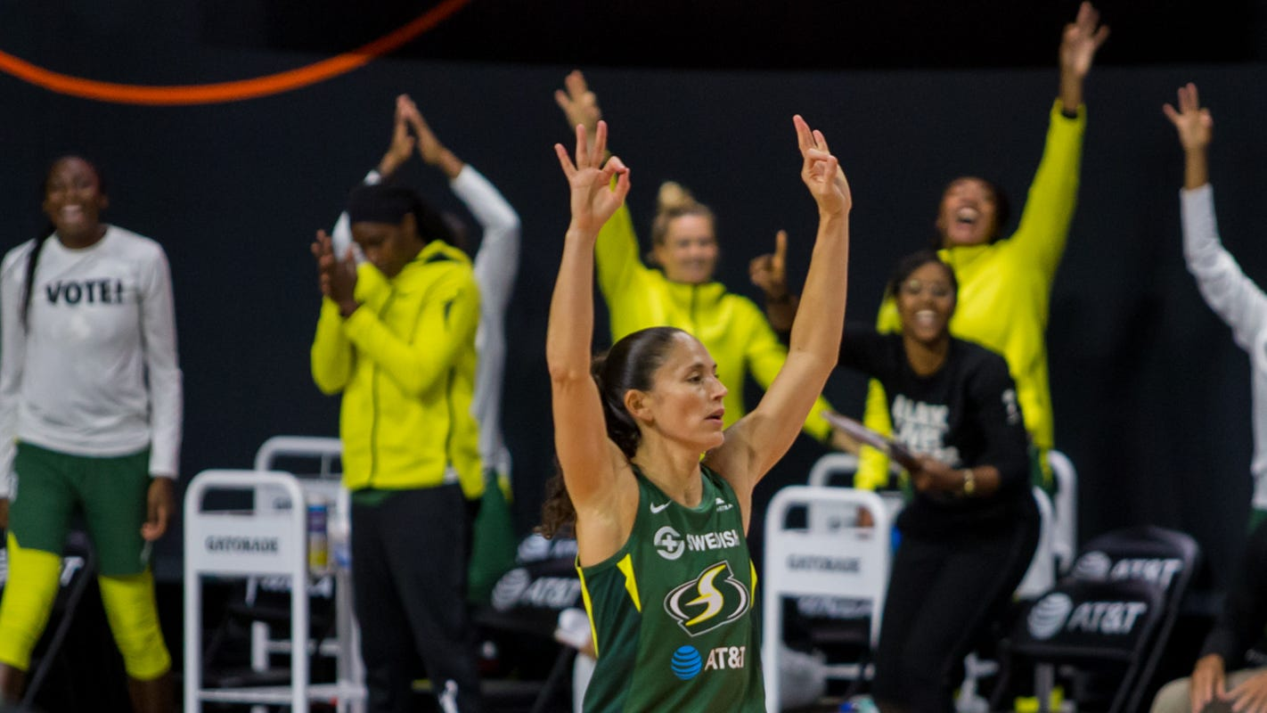 Seattle Storm surge past Minnesota Lynx for 2-0 semifinals lead