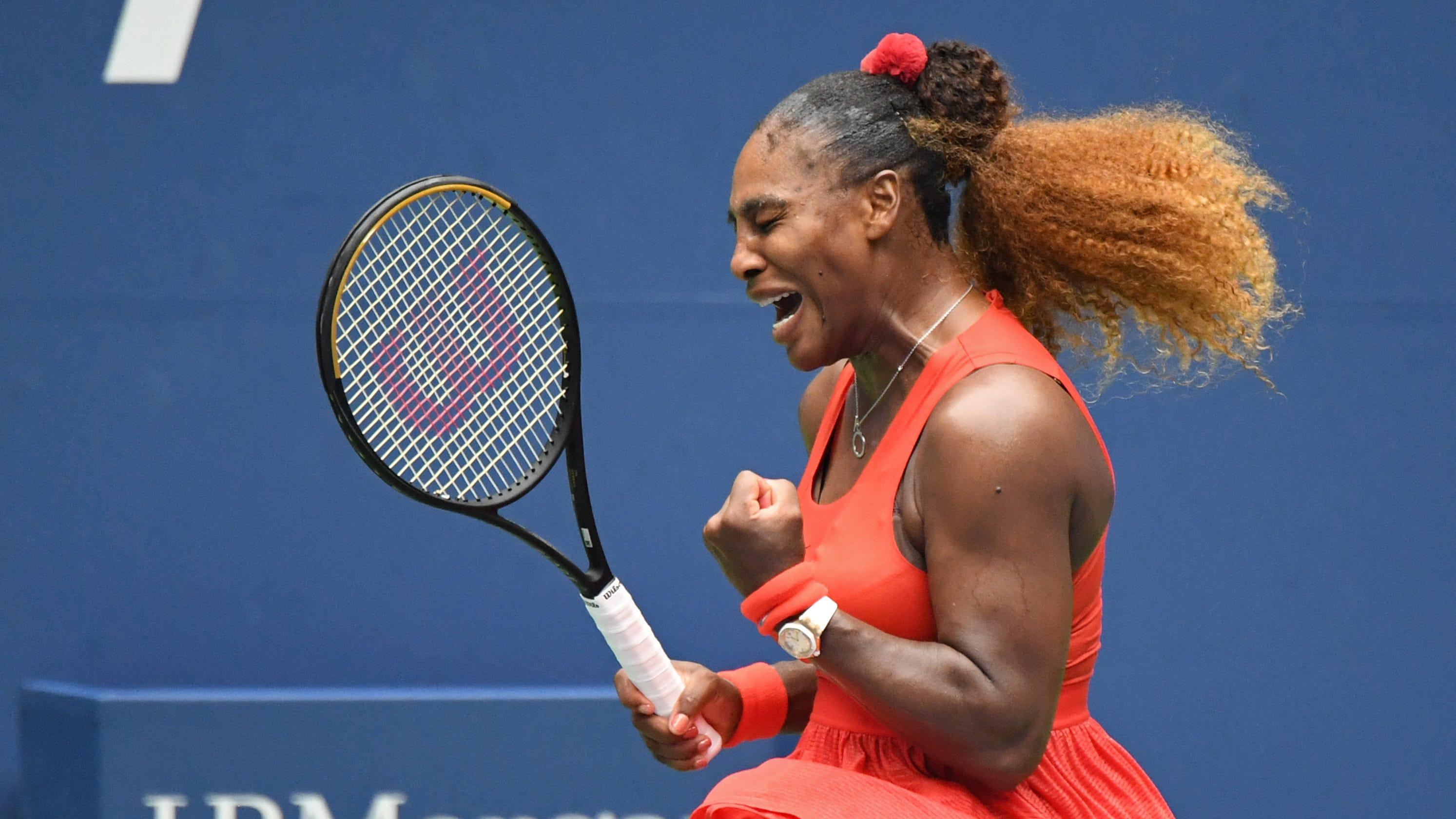 Serena Williams reaches U.S. Open semis with win vs. Tsvetana Pironkova