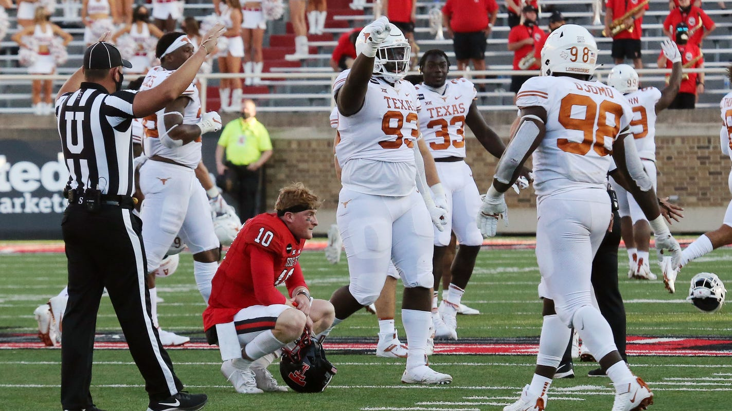 Texas rallies, wins overtime thriller against Texas Tech