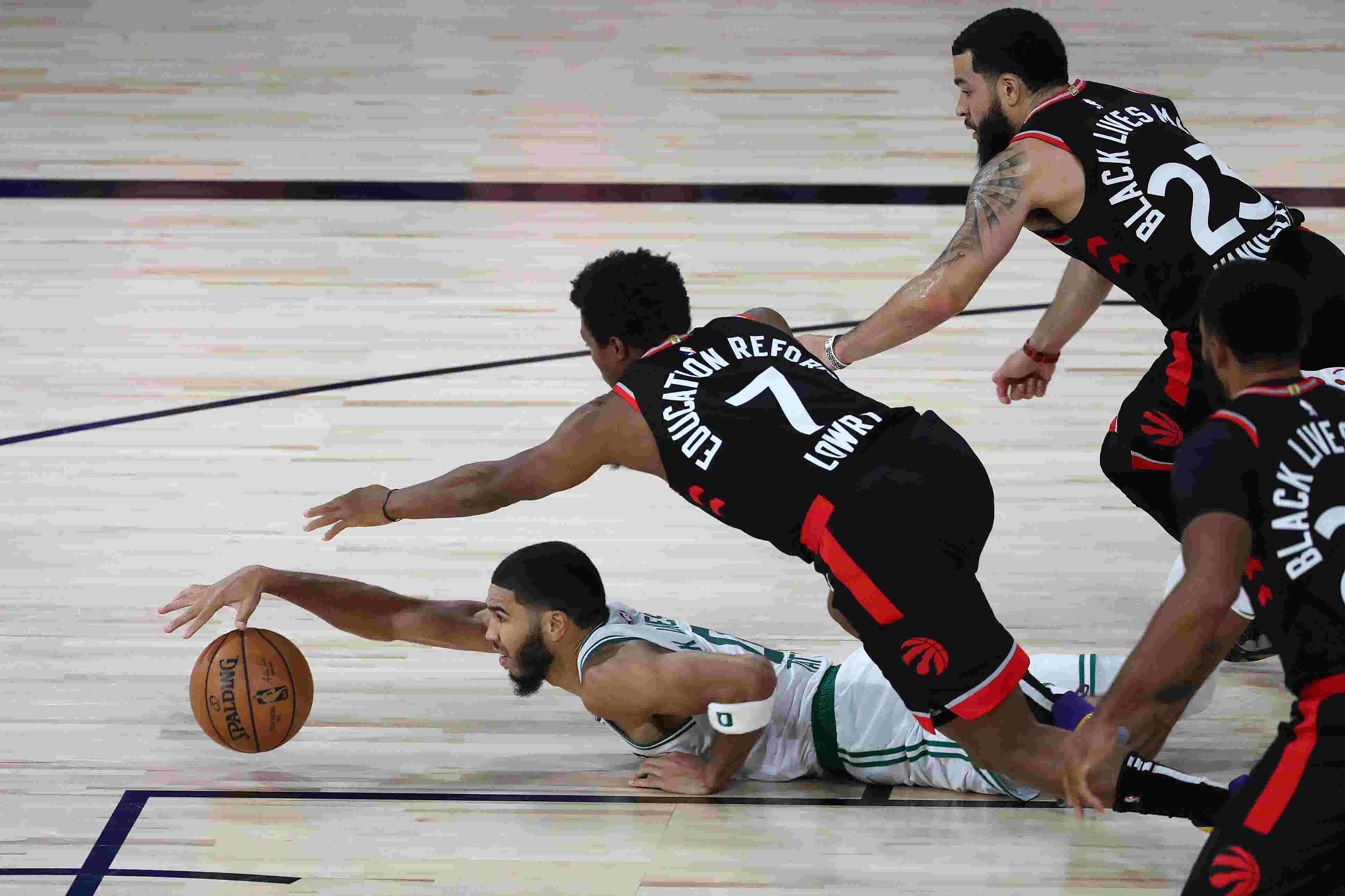 Thrilling Raptors and Celtics series heading to a game 7