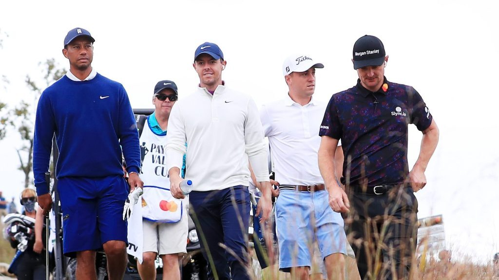 Tiger Woods, Justin Thomas take Payne's Valley Cup