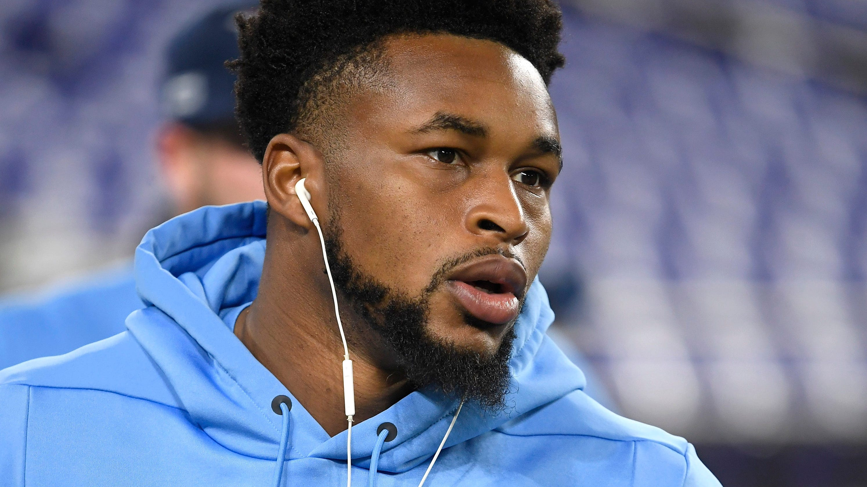 Titans safety Kevin Byard forced to deliver baby boy at home: 'I kind of caught him in my arms'