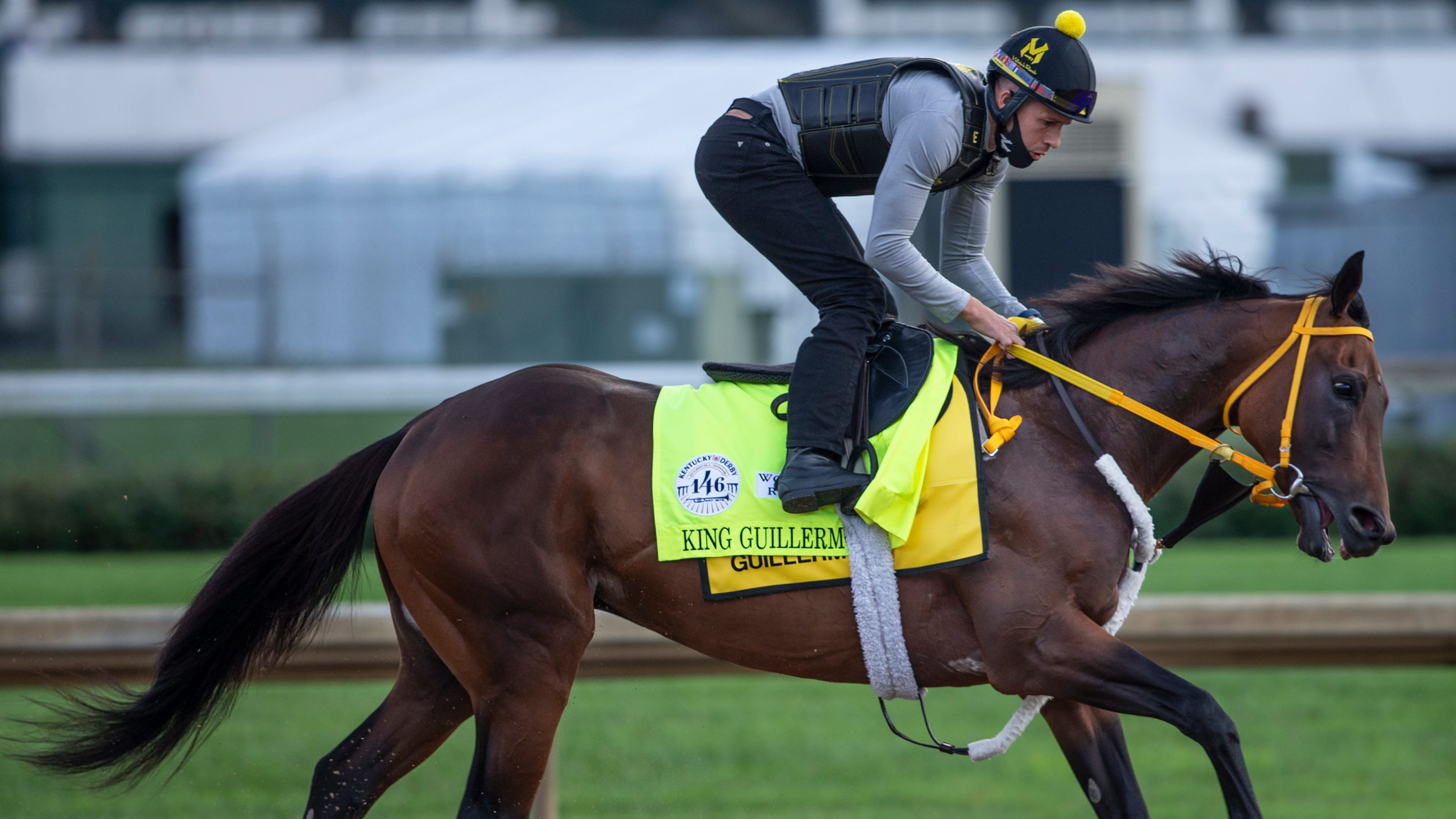 Trainer says King Guillermo out of Saturday's Kentucky Derby after spiking fever