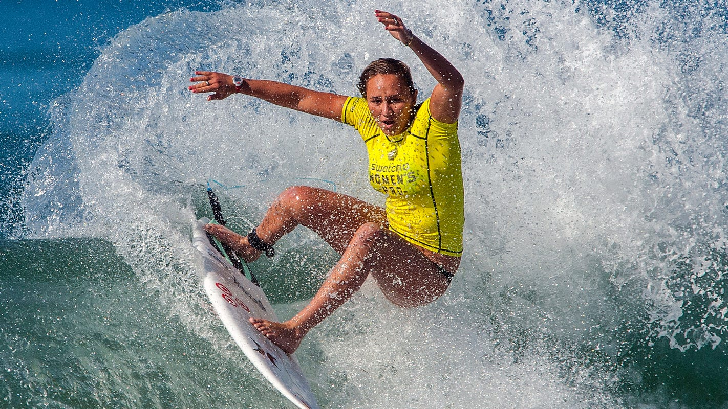 U.S. Olympic surf team will make waves in Texas prepping for Tokyo