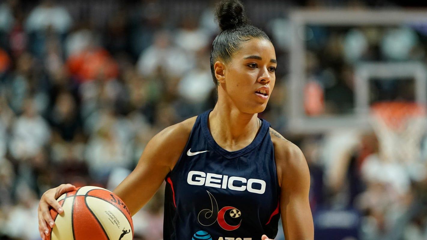 WNBA's Natasha Cloud has spent season fighting, not playing