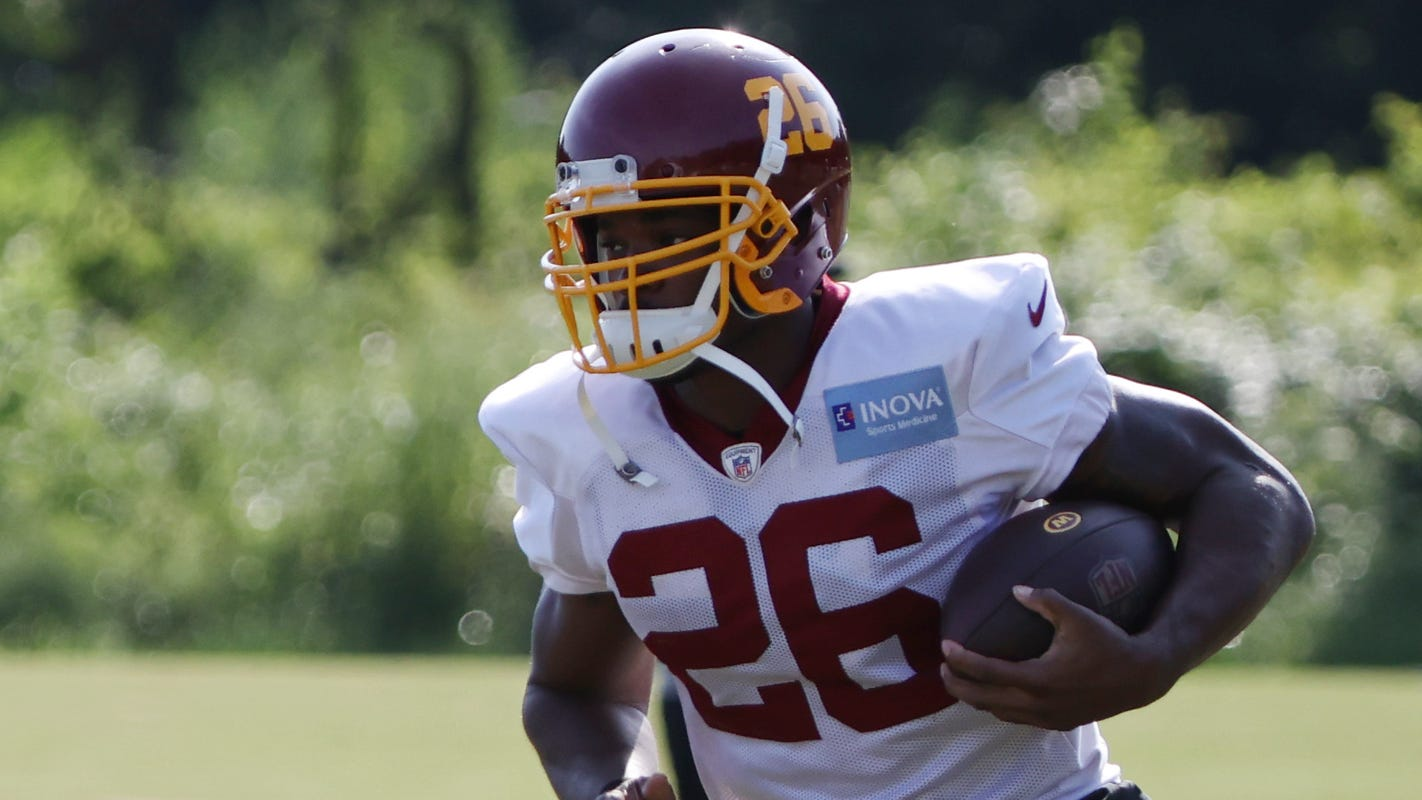 Washington Football Team releases Adrian Peterson after two seasons with team
