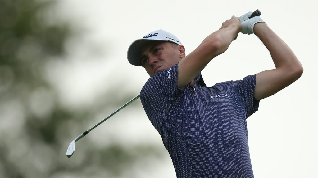 Winged Foot plays role of gracious host for Justin Thomas
