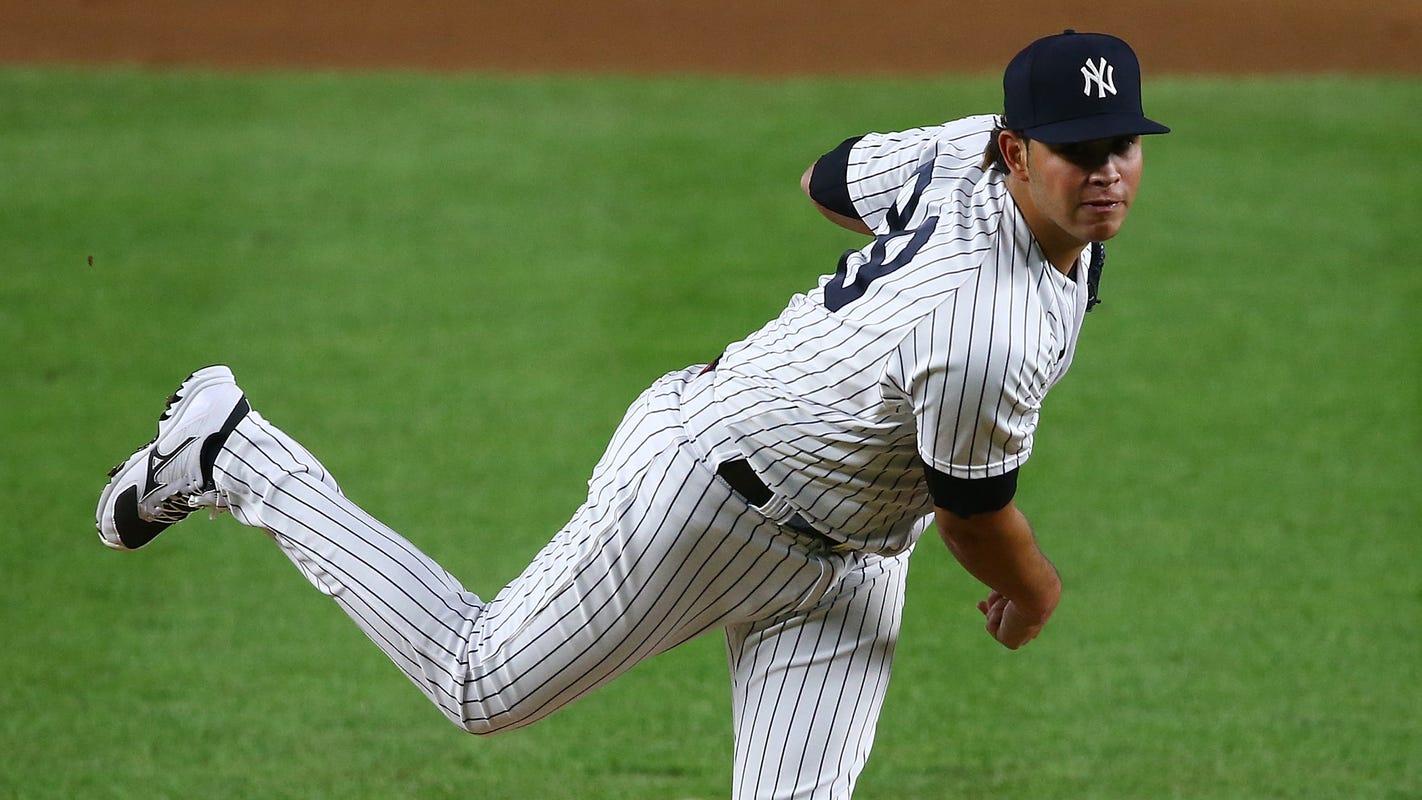 Yankees' Miguel Yajure wears No. 89; all numbers now used in MLB