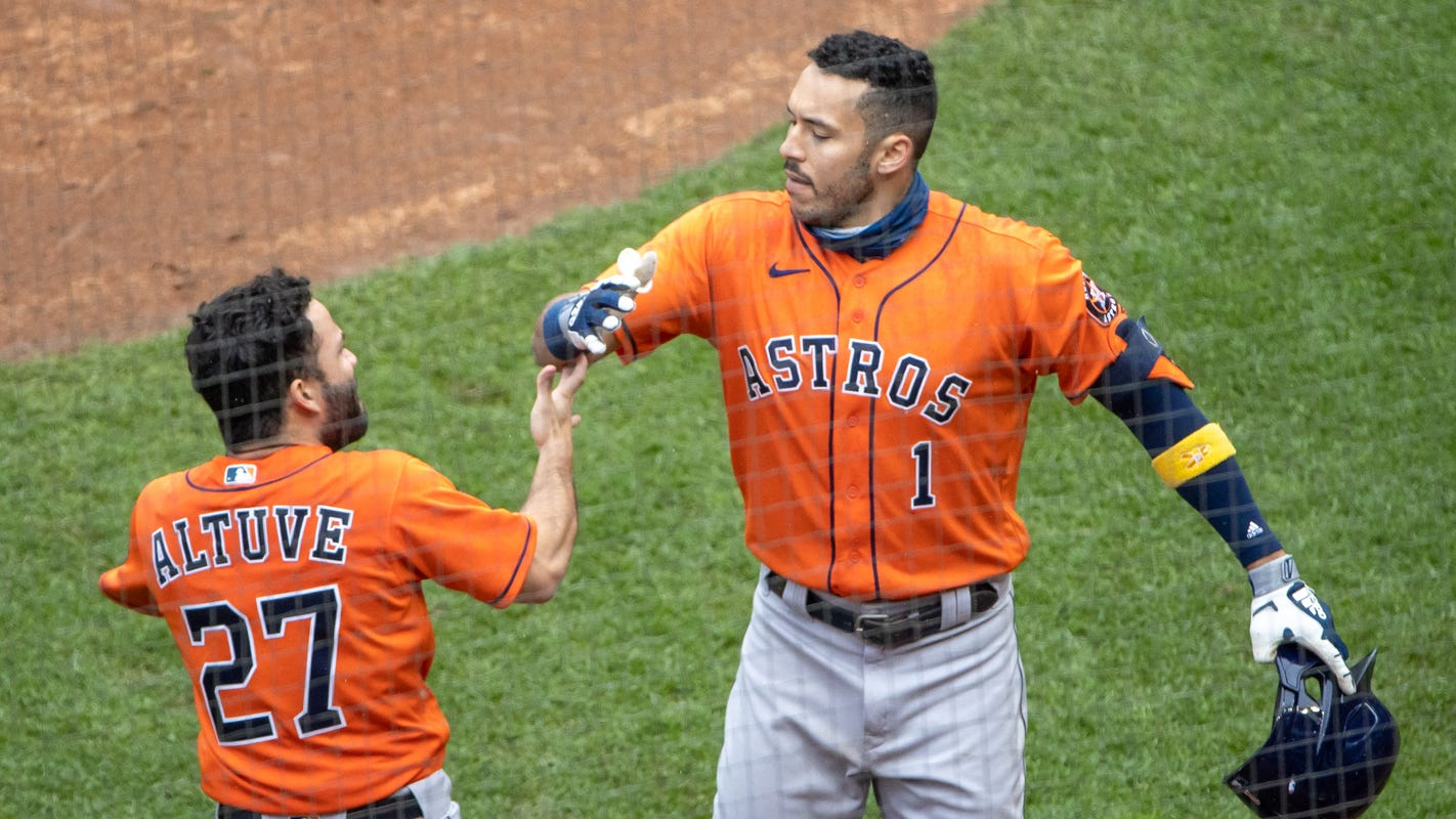 Astros sweep Twins to advance to ALDS