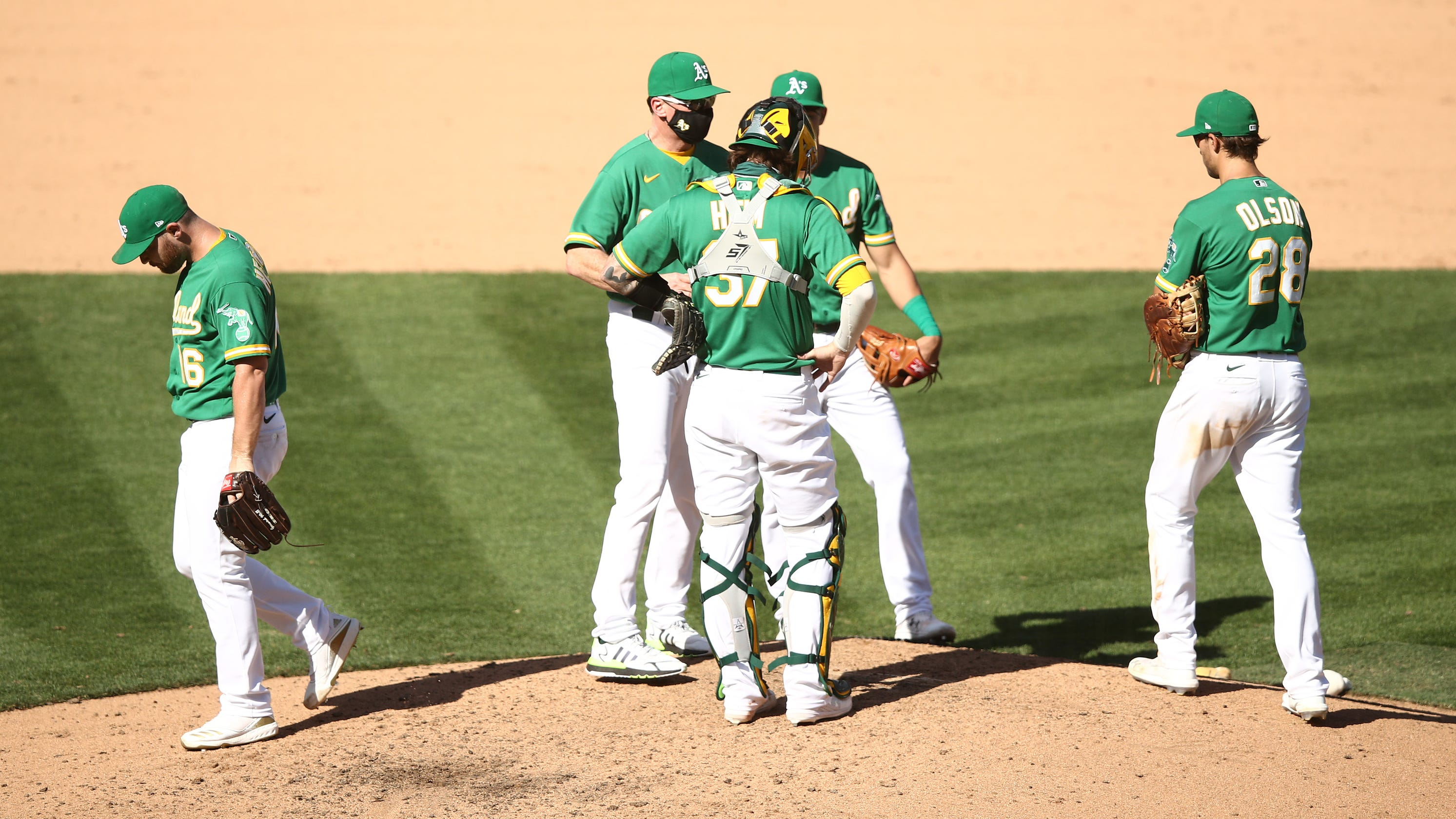 Athletics beat White Sox to force Game 3 – but will they regret burning closer Liam Hendriks?