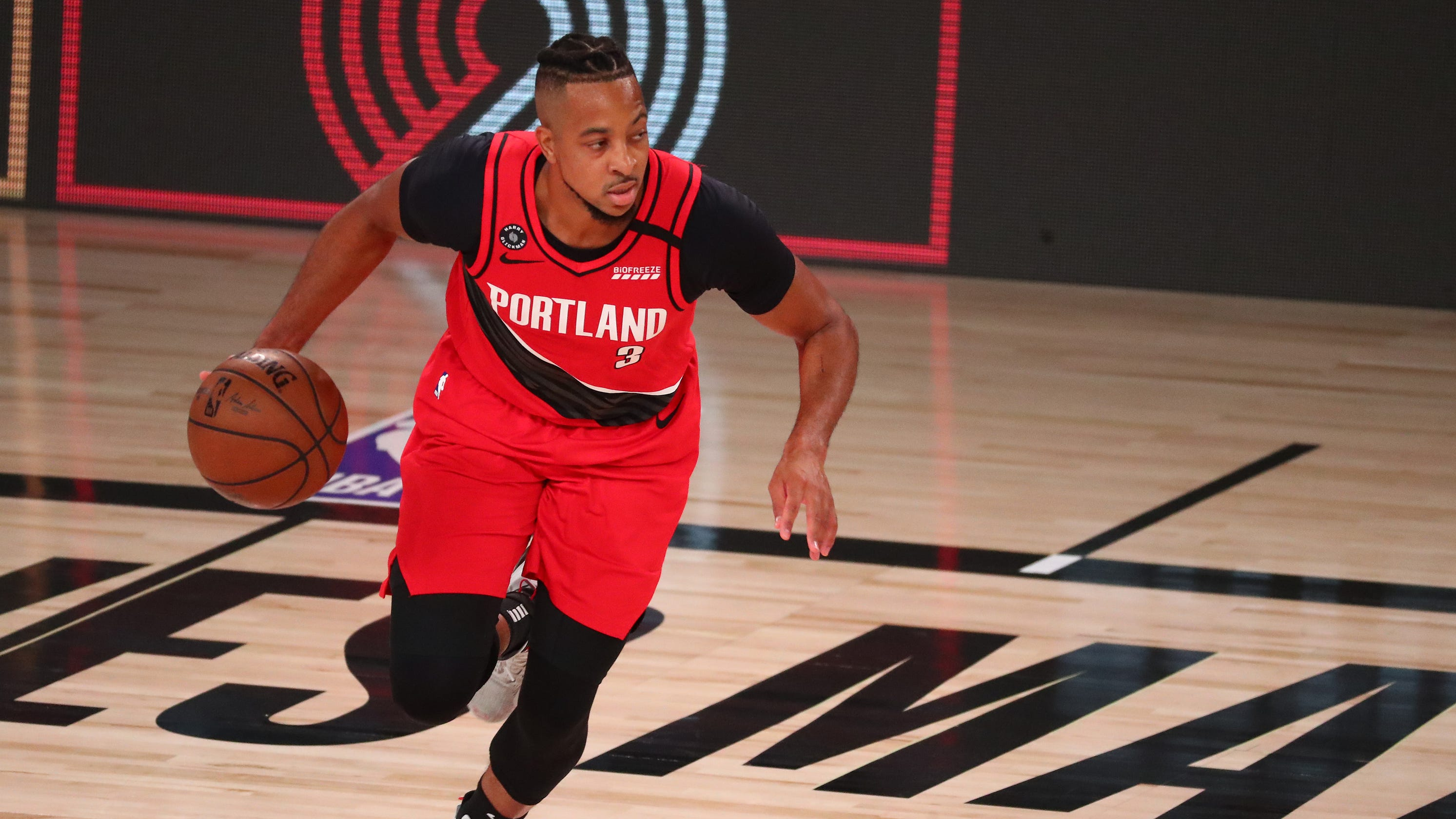 Blazers' C.J. McCollum hated debate, but it energized him for his show