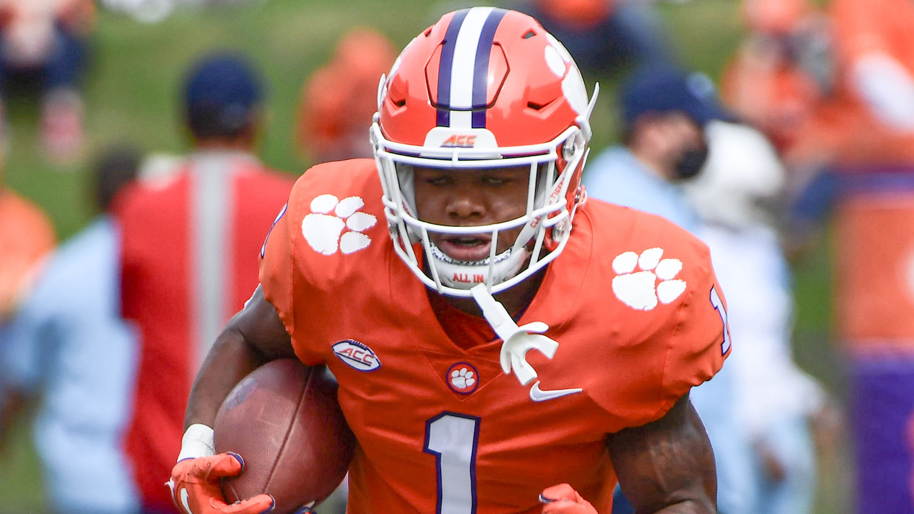 Clemson RB Demarkcus Bowman transferring after two games with Tigers