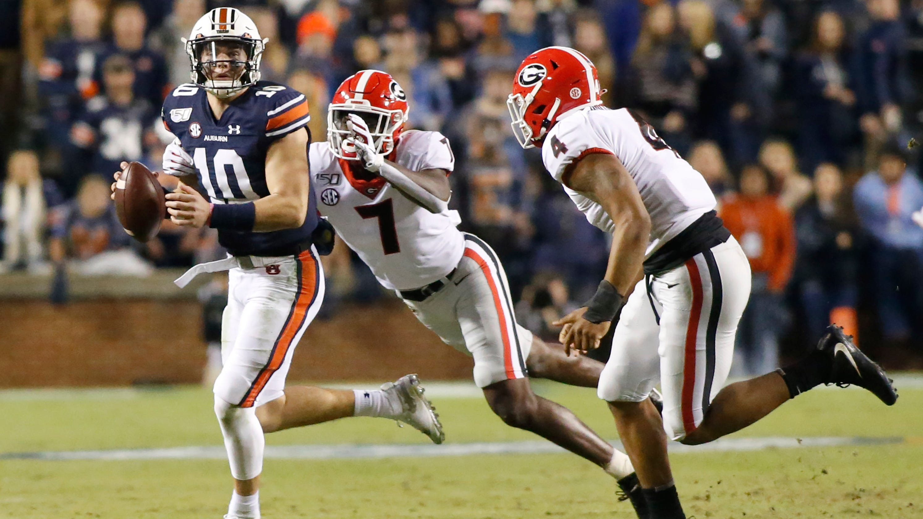 College football Week 5 games with playoff impact led by Georgia-Auburn