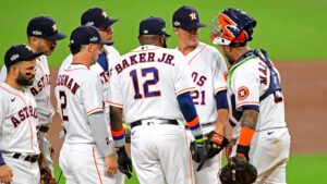 Dusty Baker's old-school decisions pay off for Astros in ALCS win
