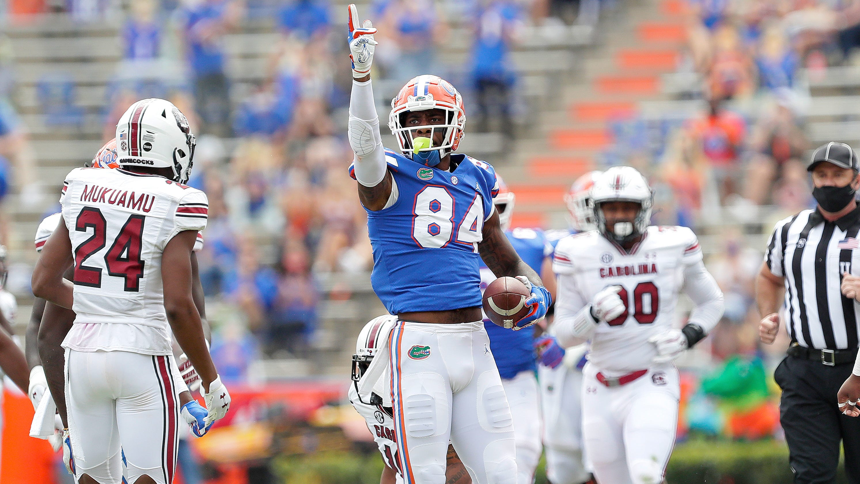 Florida defeats South Carolina behind Kyle Trask and Kyle Pitts