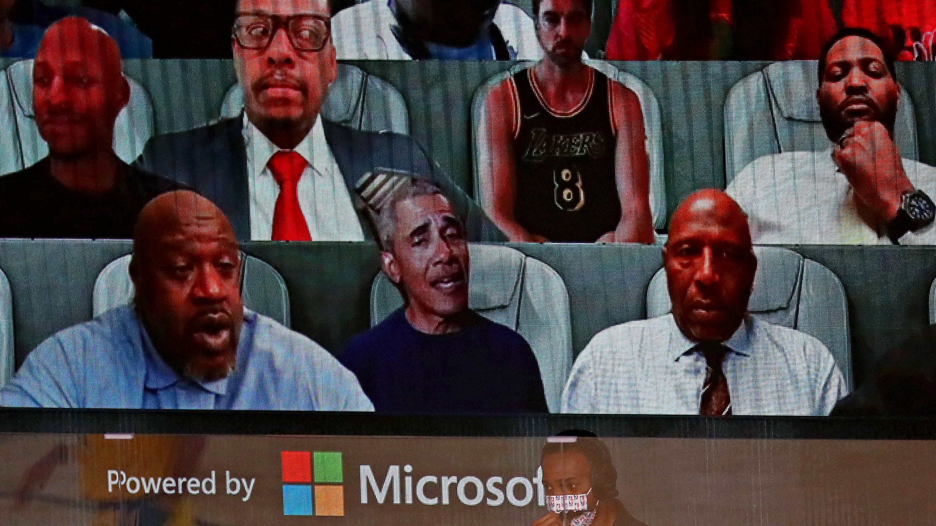 Former President Barack Obama a virtual fan for Game 1 of NBA Finals between Lakers and Heat