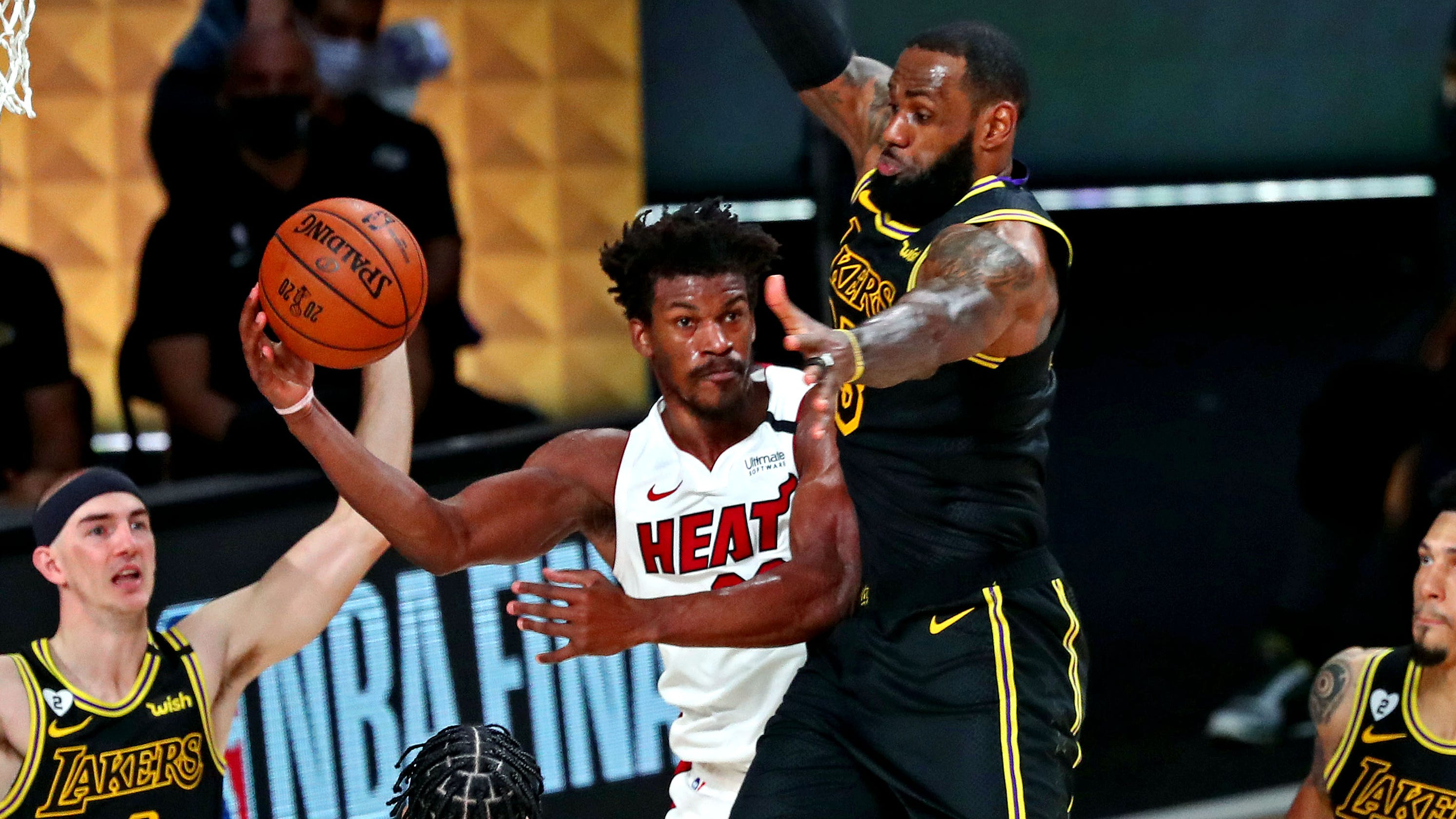 Heat not looking for sympathy down 0-2 vs. Lakers