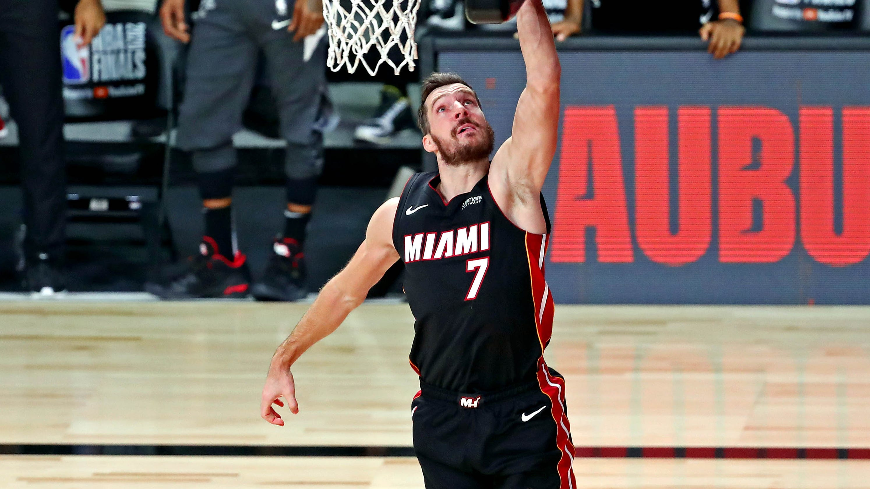 Miami Heat's Goran Dragic, Bam Adebayo injured in Game 1 of NBA Finals