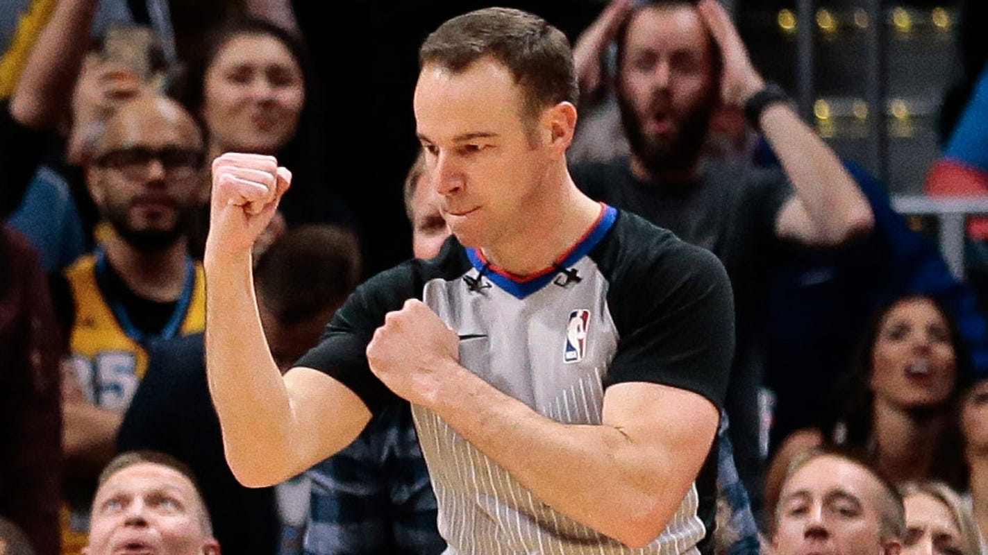 NBA Finals assignment becomes a 'heart-racing moment' for referee