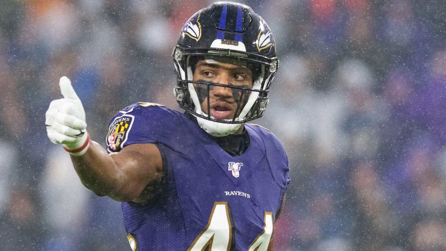 Ravens, cornerback Marlon Humphrey agree to five-year, $98.75 million extension, per reports