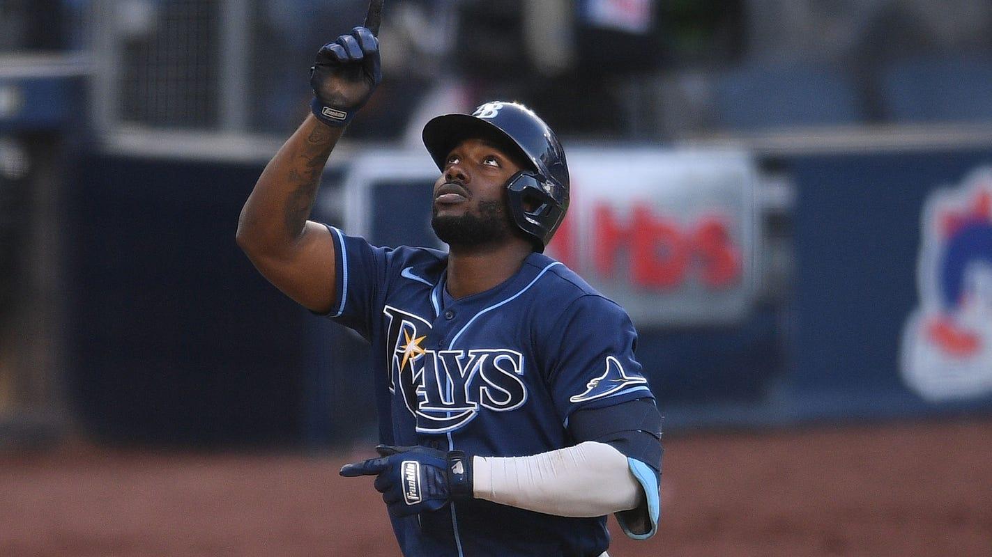 Rays' Randy Arozarena HR's again vs. Yankees, Tampa on brink of ALCS