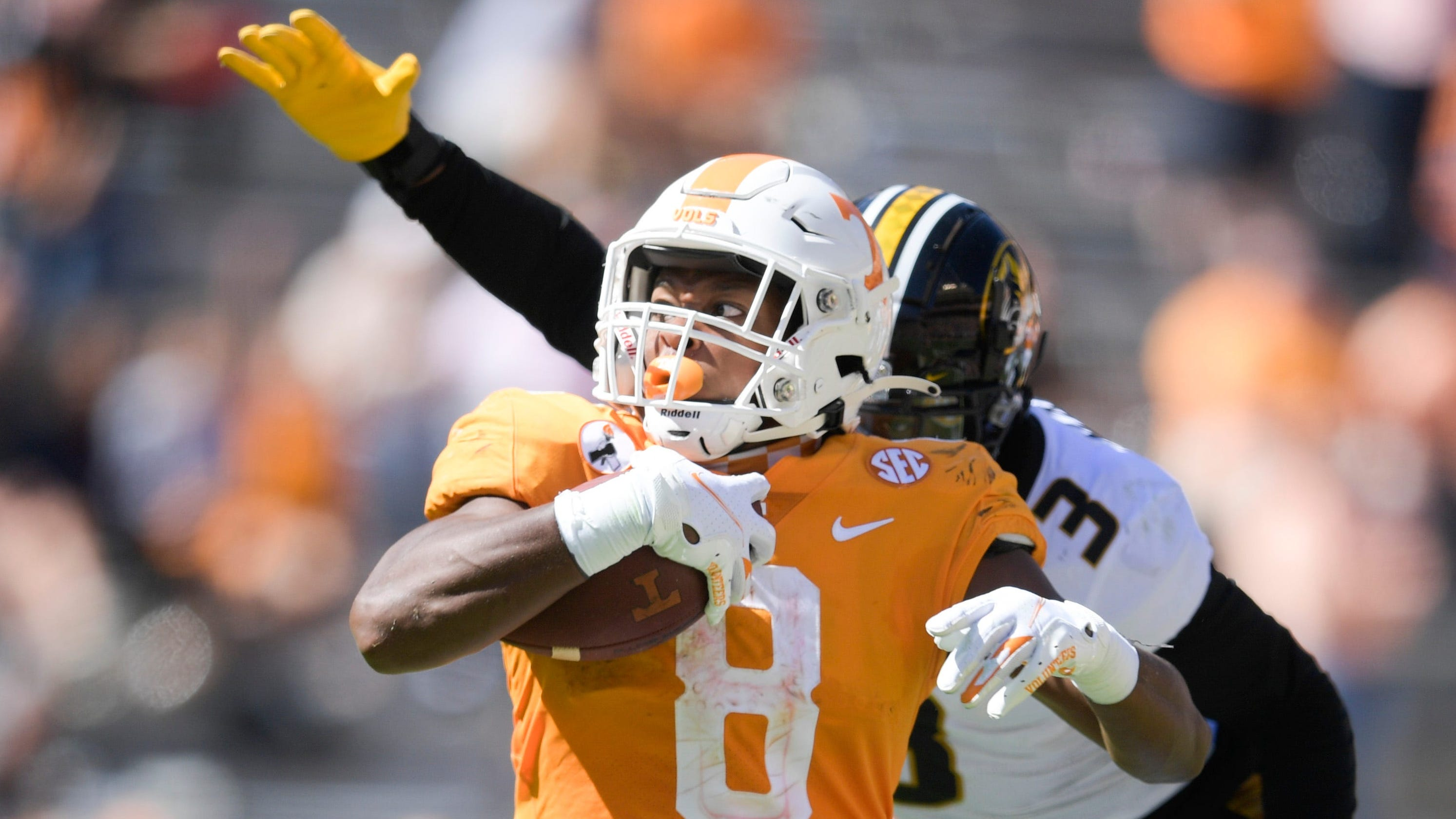 Tennessee's ground game has football team looking ahead to Georgia