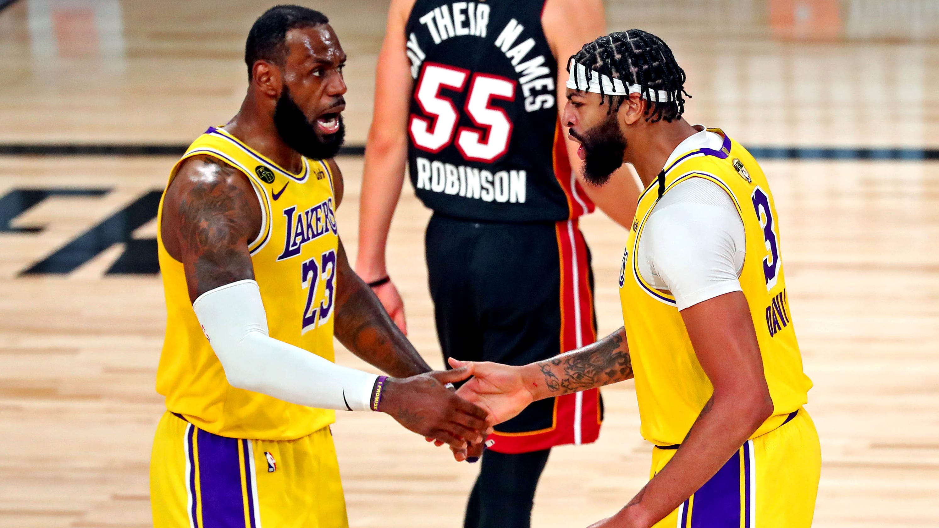 Three keys for Lakers vs. Heat in Game 2