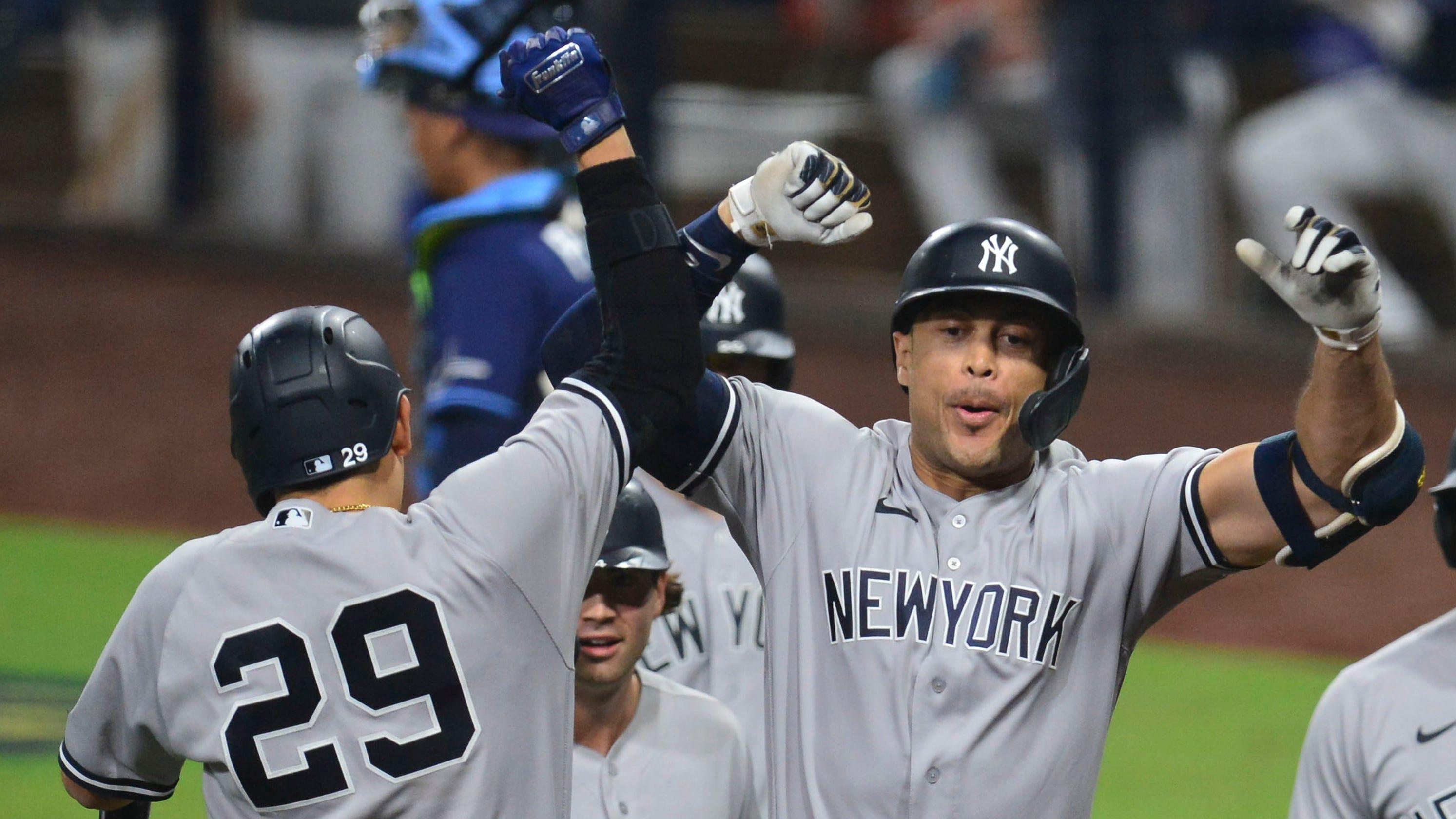 Yankees' Giancarlo Stanton, Aaron Judge are back slugging